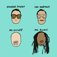 Mr. Scruff, MC Kwasi, Annabel Fraser & Lee Andrews - ROTC Fundraiser, Manchester, Oct 2020