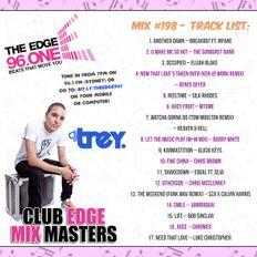 The Edge 96.1 MixMasters #198 - Mixed By Dj Trey (2018) :: R&B // Hip Hop // Nu Disco // Funk