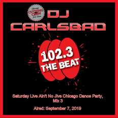 Saturday Night Live Ain't No Jive Chicago Dance Party 102.3 FM Chicago:  Airdate: 09/07/2019