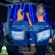 LOS V - LIVE !  THE CASTLE CLUB (STAN KOLEV WARM UP AUGUST 2019)