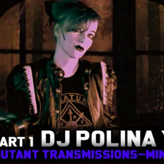 DJ Polina Y - Minimal / Synth Wave Special MUTAnT TranSMissions   (Cold Rare Obscure Minimal Synth )