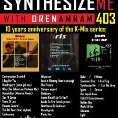 Synthesize Me #403 -170121 - K-mix special 1 - hour 1