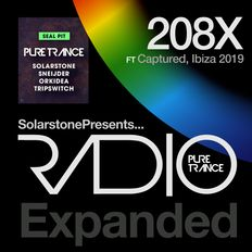 Solarstone presents Pure Trance Radio 208X -  Full 5 Hour Show from Captured, Ibiza, 2019