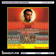 Dynamite Disco Club 2nd Anniversary - Stalvart John [17-03-2019]