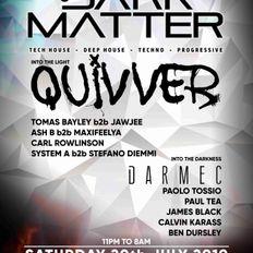 DARK MATTER - Promo Set - 20th July - Progressive House and Techno