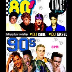DJ EkSeL - 80's vs 90's Virtual Dance Party (Zoom Set 1/29/21)