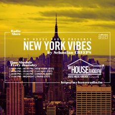 Sebastian Creeps aka Gil G - New York Vibes Radio Show on MyHouseRadio.fm NYC EP081