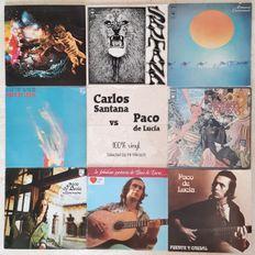 Carlos Santana vs Paco de Lucía