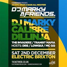 DJ Marky & Friends - Electric Brixton Special D&B Mix