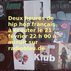 Radioshow 2021-02-21 French Hip Hop Special 90s & Contemporary