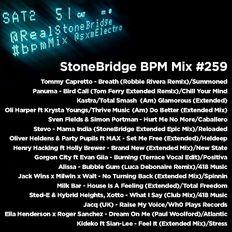 #259 StoneBridge BPM Mix