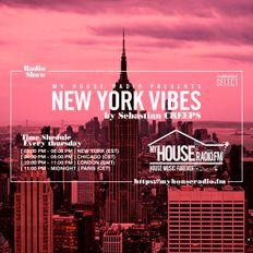 Sebastian Creeps aka Gil G - New York Vibes Radio Show on MyHouseRadio.fm NYC EP082
