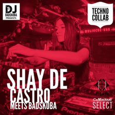 Shay De Castro and Badskoba in technocollab 2019