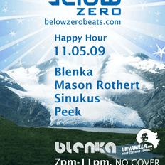 Below Zero Presents: Mason Rothert & Sinukus Live at Swig