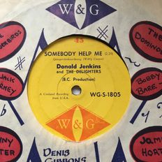 NORTHERN SOUL - SOMEBODY HELP ME