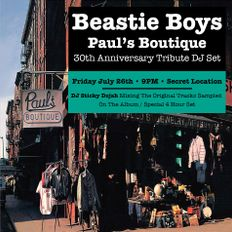 Paul's Boutique 30th Anniversary Tribute DJ Set (Live @ Ludlow House, NYC, July 26th, 2019)