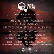 SECRETARIO - SONICA VENAO FESTIVAL 2019