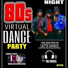 DJ EkSeL - 80's Virtual Dance Party 2/28/21