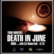 "Radio & Podcast : DJ Nederfolk : DEATH IN JUNE hour 10-2019 ... ""Bring in the Night"""