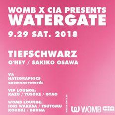 Q'hey Live Mix  [Deep Set] at WOMB x CIA presents WATERGATE, Womb Tokyo, Sep 2018