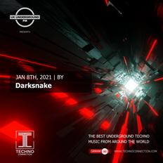 Darksnake exclusive radio mix UK Underground presented by Techno Connection 08/01/2021