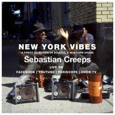 Sebastian Creeps aka Gil G - 047 New York Vibes (Facebook Live 07-09-19)