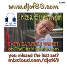 Ibiza Summer on TheOneMarbella.com Set from 22nd June 2019 - Soulful House in a LIVE MIX