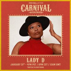 DJ Lady D - Carnival Weekender