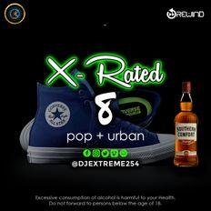 X-RATED 8 [Pop + Urban].