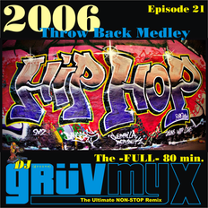 GruvMyx 21 ...2006 Throw Back HipHop Medley ...Over 100 Tracks...Subscribe Now!!