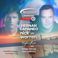 Café del Mar Ibiza: Hernan Cattaneo & Nick Warren - DJ Awards exclusive sunset (23.7.19)