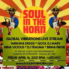Qool DJ Marv plays Soul In The Horn Global Vibrations Live Stream - April 16 2021