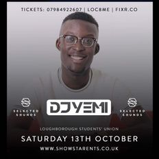 DJYEMI - Selected Sounds Promo Mix 13th October @DJ_YEMI