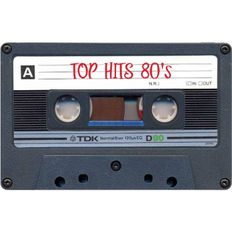 Top Hits 80's [C90] SIDE A Only, feat Fine Young Cannibals, The Traveling Wilburys, Hot Chocolate