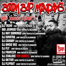Boi Jeanius for Boom Bap Mondays 2020 (2 HOUR SET)