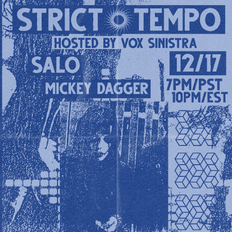 Strict Tempo 12.17.2020 (Virtual Flesh)