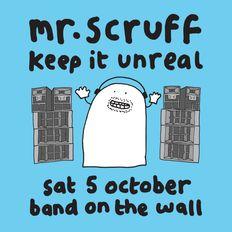 Mr. Scruff (with MC Kwasi) DJ Set - Keep it Unreal, Manchester, October 2019