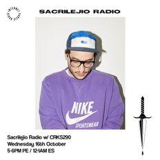 Sacrilejio Radio w/ CRKS290 - 16th October 2019