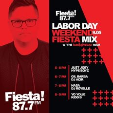 The Weekend Fiesta Mix with DJ Kidd B ((DJ Nasa DJ Set))