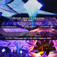 Artelized Visions 094 (October 2021) with CJ Art ][ Artelized set from Fest Festival 2021 on DI.FM