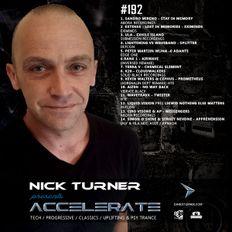 Nick Turner - ACCELERATE #192