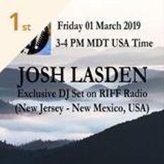 RIFF Radio, USA (01/03/2019) - Josh Lasden