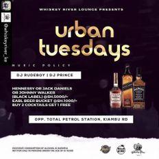 Dj Rudeboy - #UrbanTuesdays at Whiskey River Lounge Set 17/09/2019