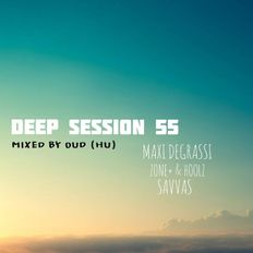 Deep Session 55 - Mixed By OUD (HU) (2019.10.15.)