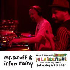 Mr. Scruff & Irfan Rainy DJ Set - Felabration 20th Anniversary, Band on the Wall, Manchester 2018