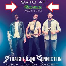 STRAIGHT LINE CONNECTION ALBUM LAUNCH Happening Aug 17th 2019 @ Club TreeHouse Westlands PROMO MIXX