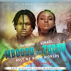 BEST OF MBOSSO & ZUCHU VIDEO MIX - DJ BLEND (BAIKOKO  SUKARI   Wasafi Mix,)