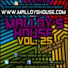 Malloy's House Vol 15 (Soulful & Deep House Music)