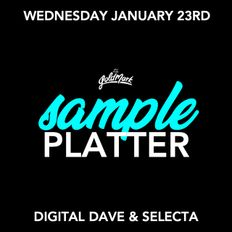 Sample Platter Live Set w/ Selecta + Digital Dave (Recorded 1.23.19 @ The Goldmark)
