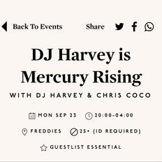 Chris Coco DJ set for Mercury Rising, poolside at Pikes, Ibiza, September 2019